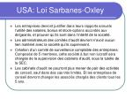 usa loi sarbanes oxley51