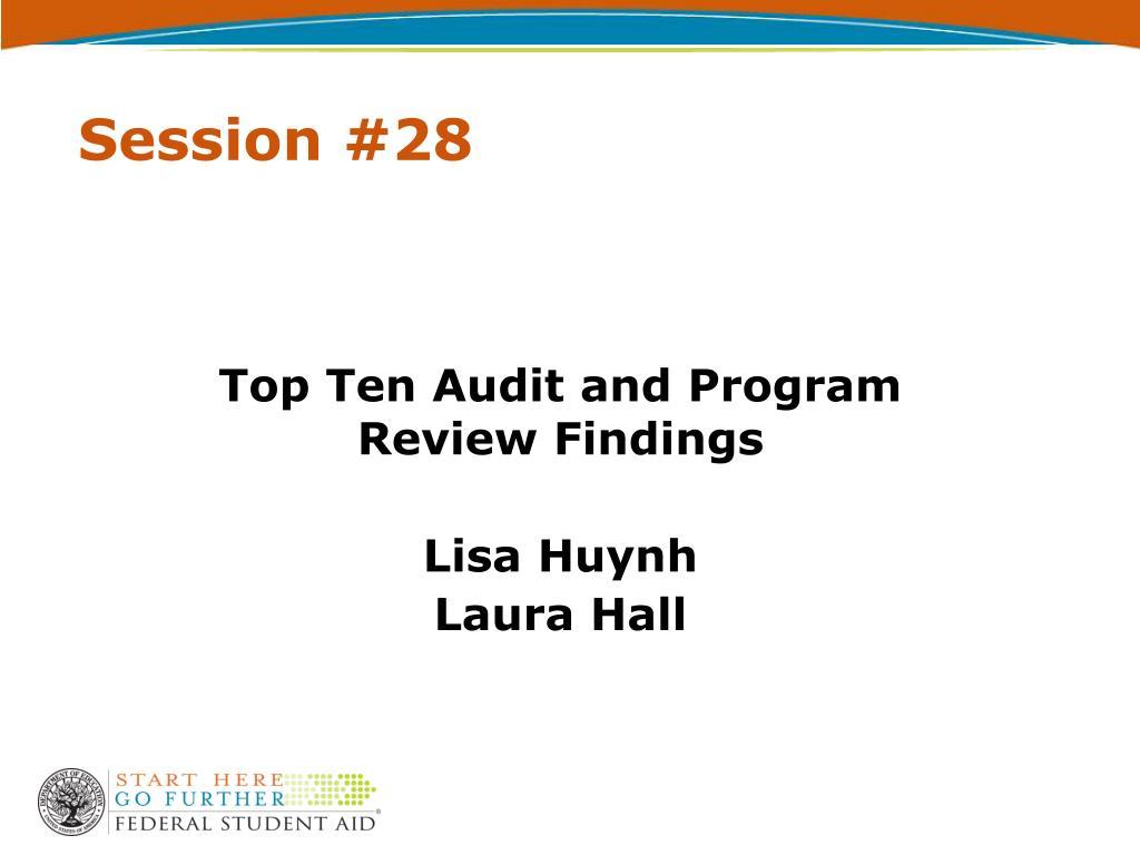Session #28