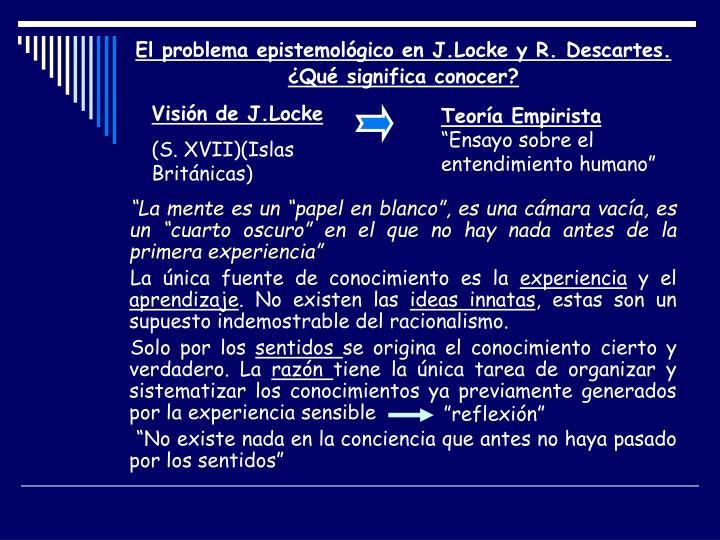 Visión de J.Locke