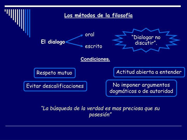 """Dialogar no discutir""."