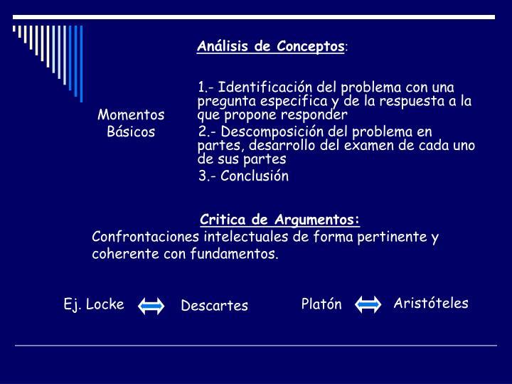 Análisis de Conceptos