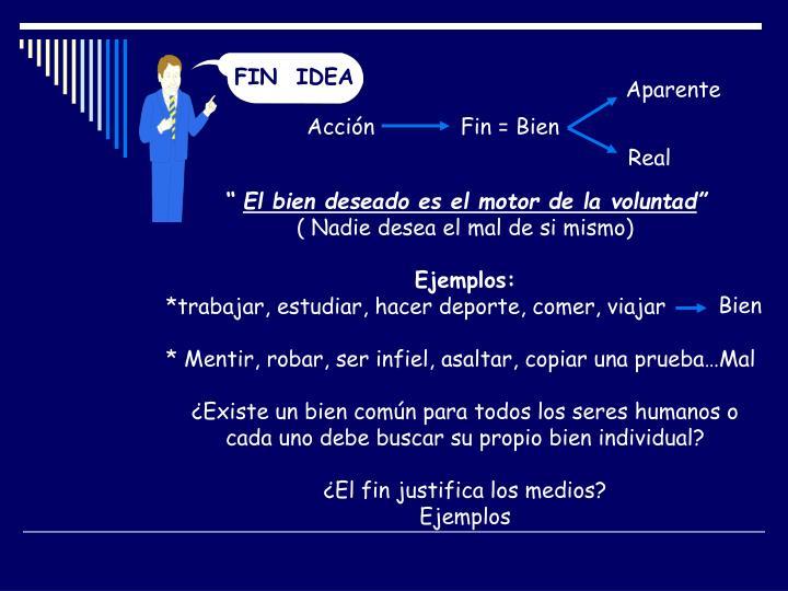 FIN  IDEA