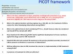 picot framework