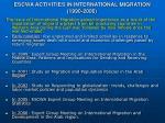 escwa activities in international migration 1990 2006