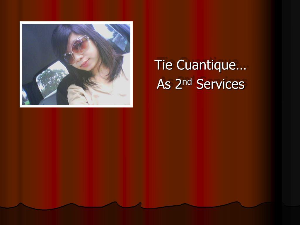 Tie Cuantique…