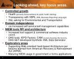 looking ahead key focus areas