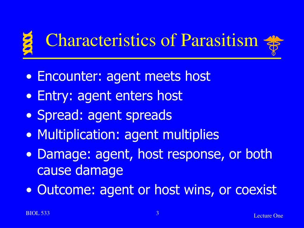 host and parasite relationship ppt