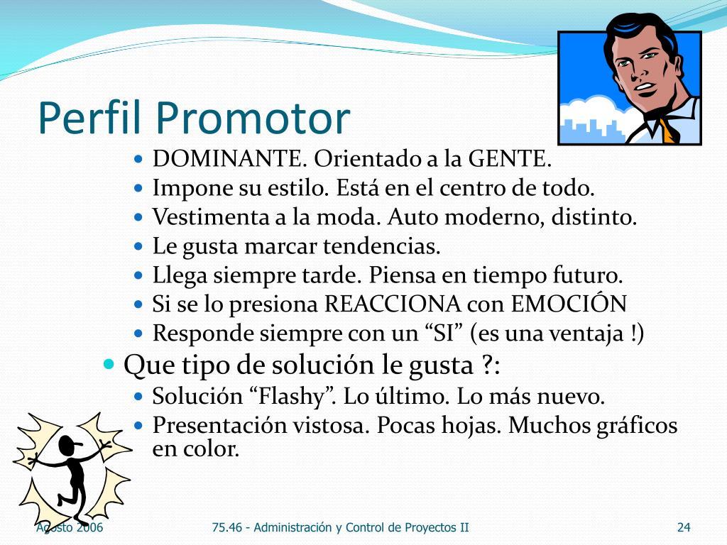 Perfil Promotor