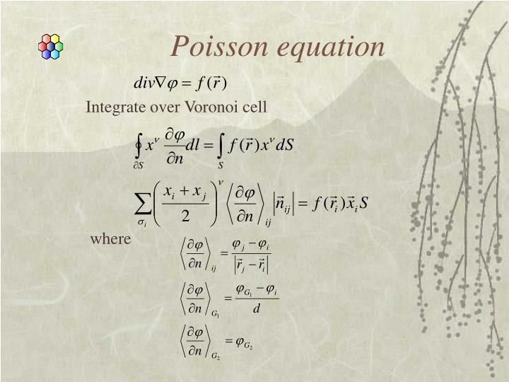 Poisson equation