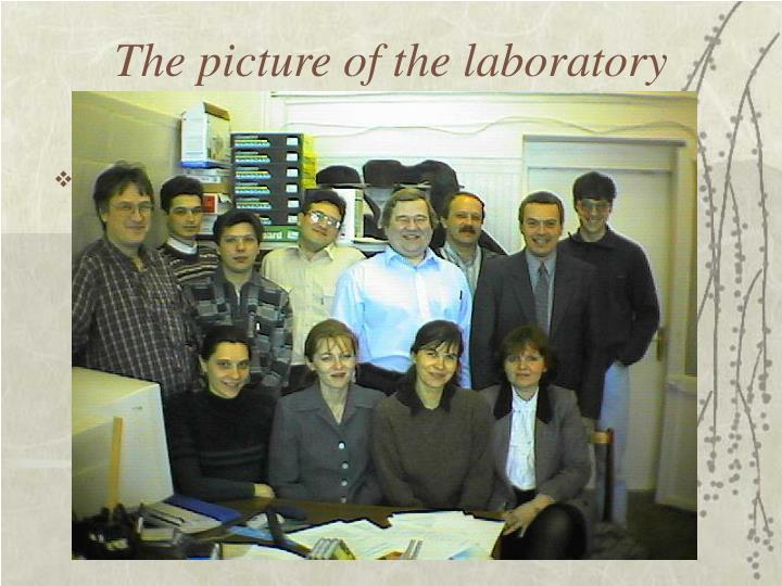 The picture of the laboratory