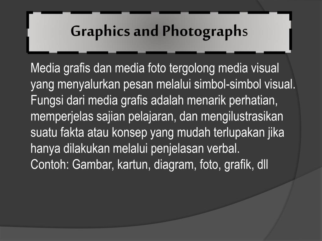 Graphics and Photograph
