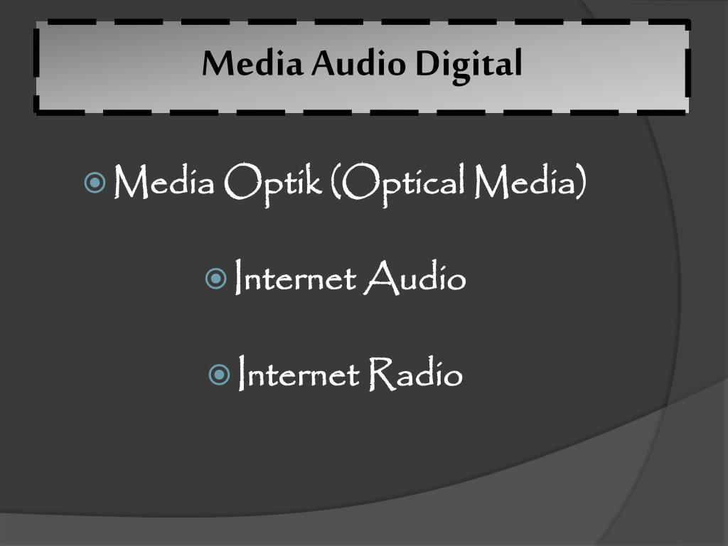 Media Audio Digital