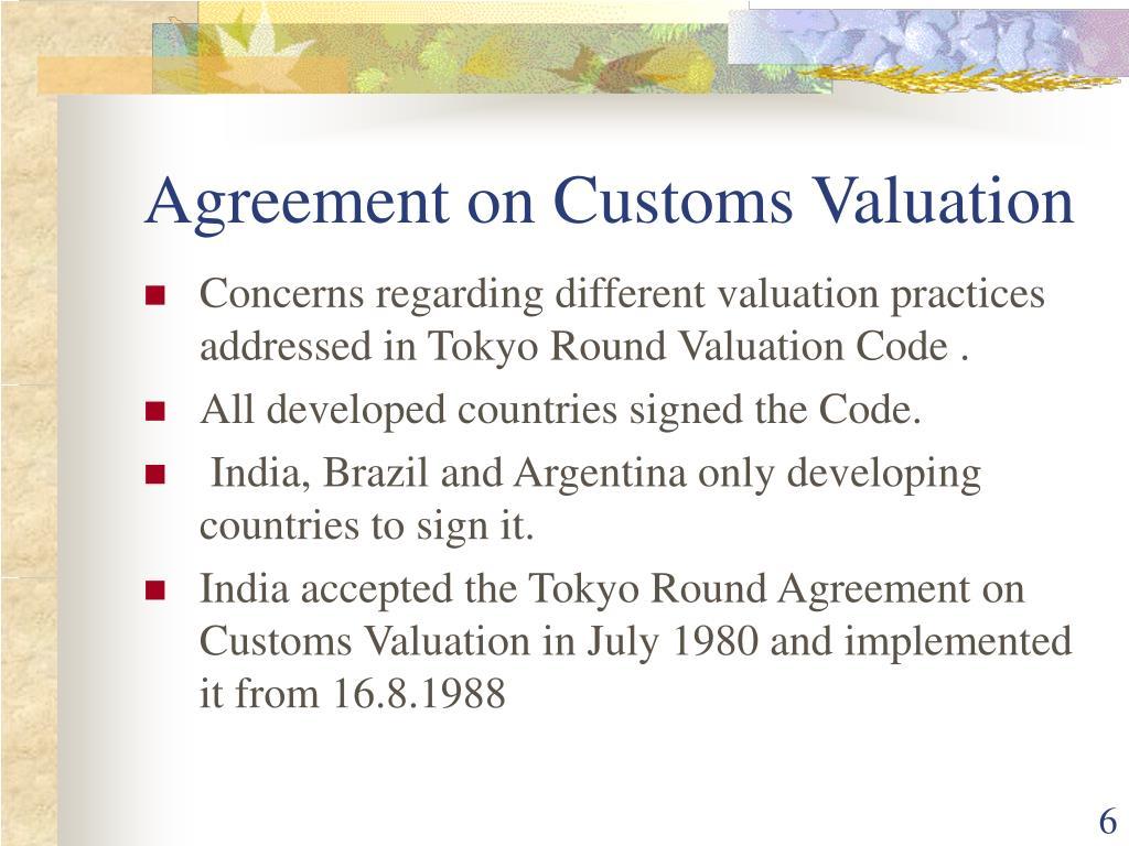 WTO iLibrary | Trade facilitation and customs valuation