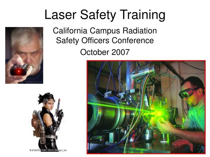 laser safety training