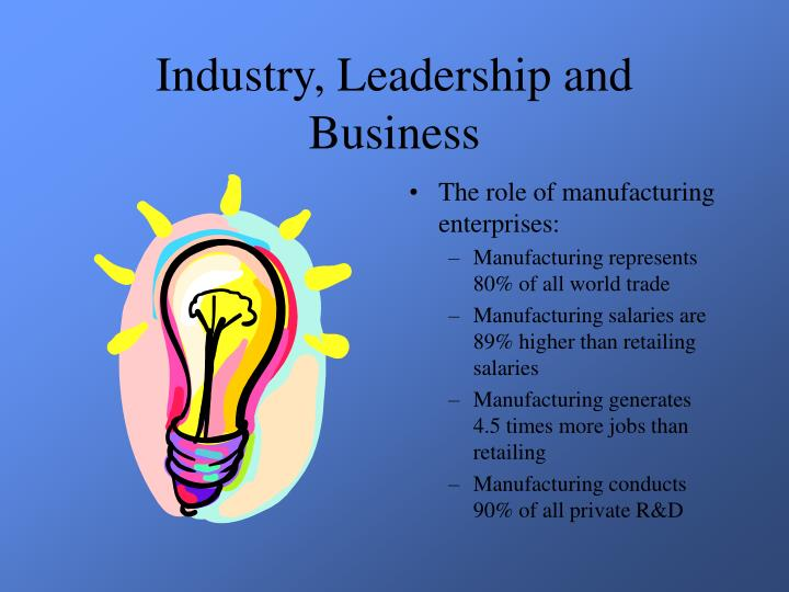 Industry leadership and business