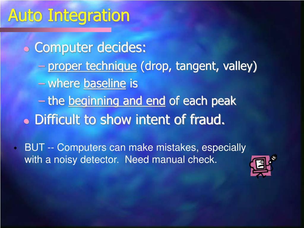 Auto Integration