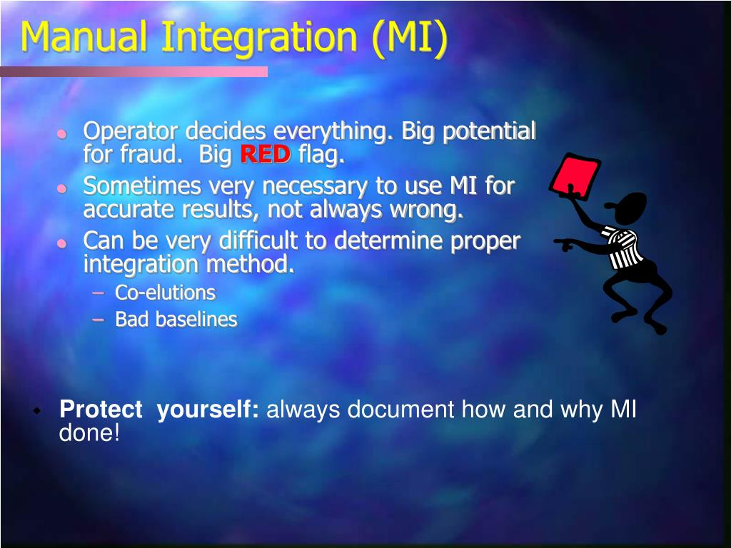 Manual Integration (MI)