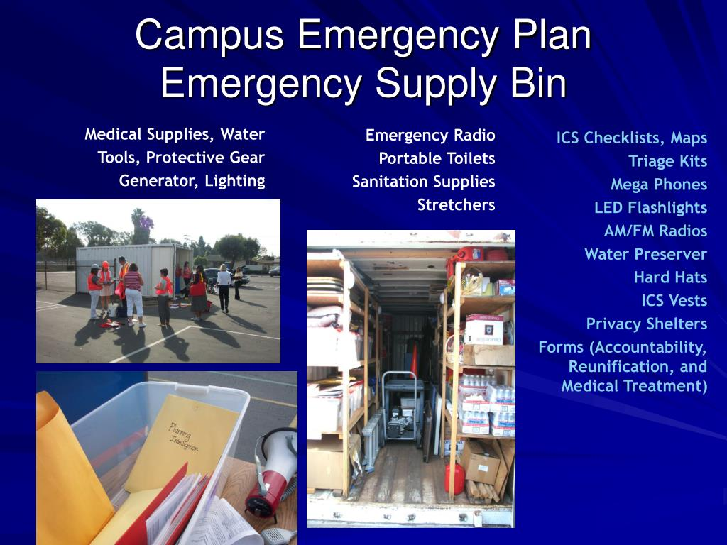 Campus Emergency Plan
