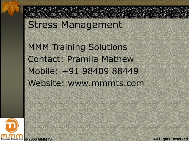 Stress management2