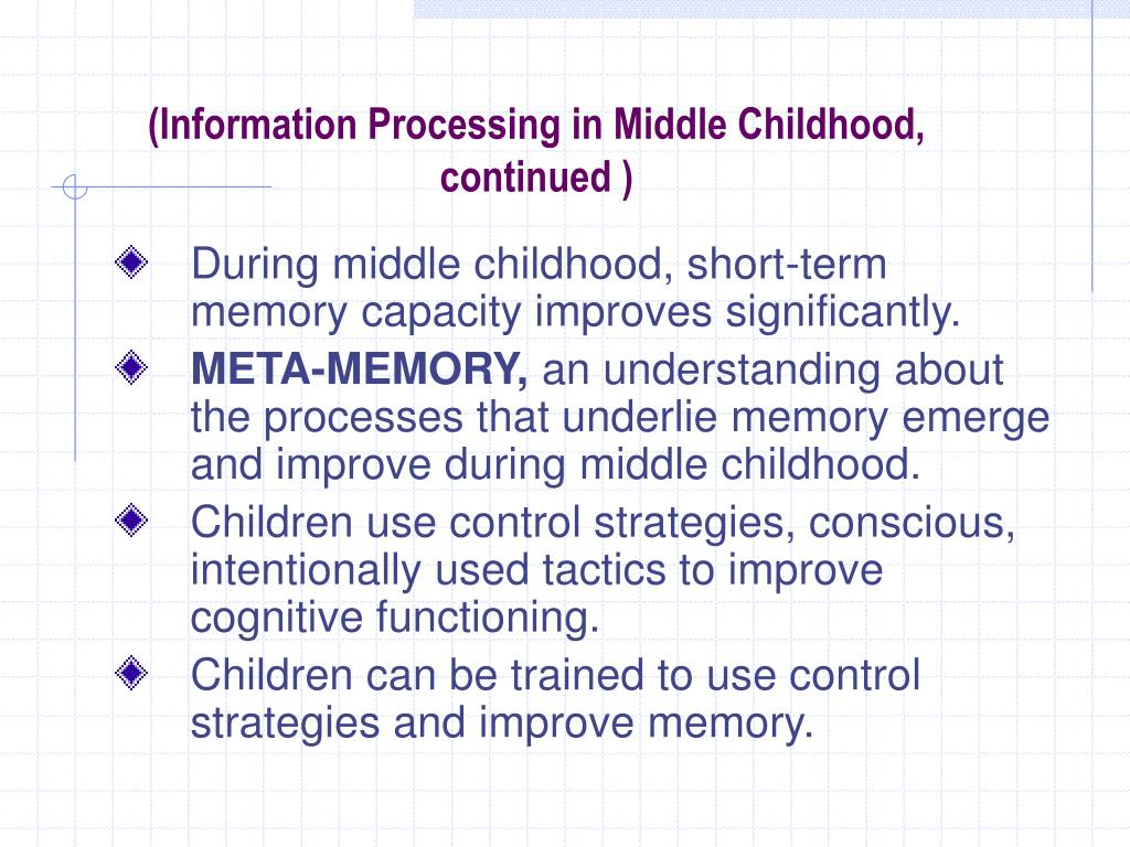 middle childhood Middle childhood and adolescent development - download as pdf file (pdf), text file (txt) or read online.