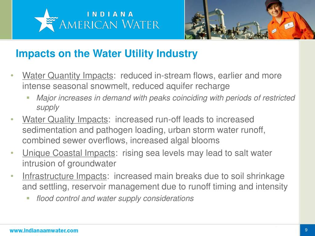 Impacts on the Water Utility Industry