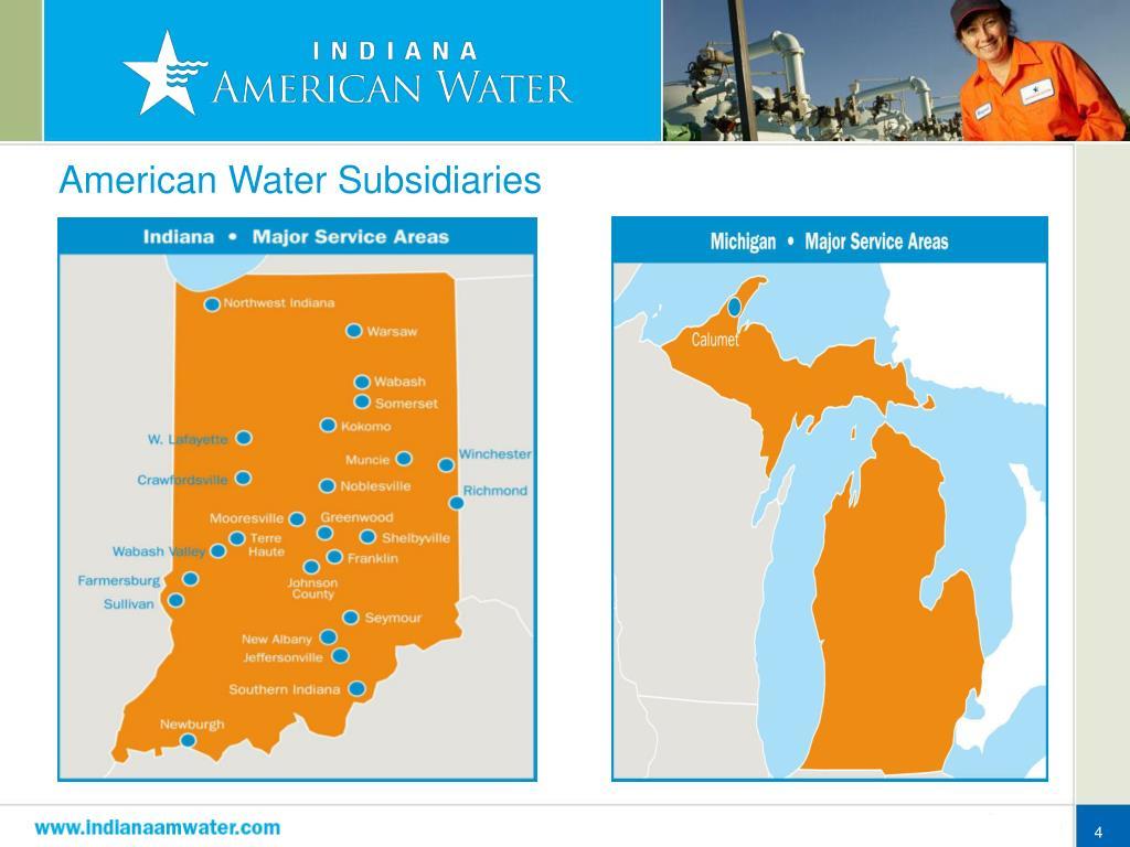 American Water Subsidiaries