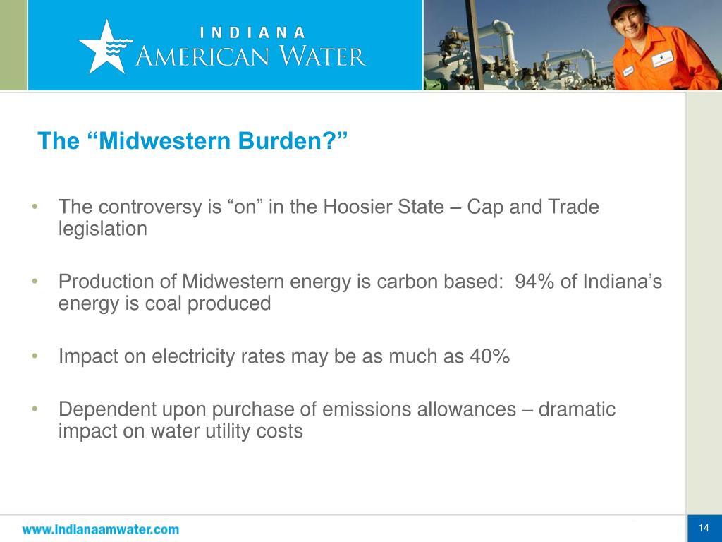 """The """"Midwestern Burden?"""""""