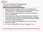 the link between constitutional design and interpretation