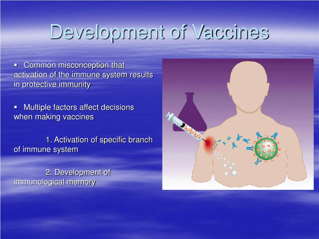 Development of Vaccines