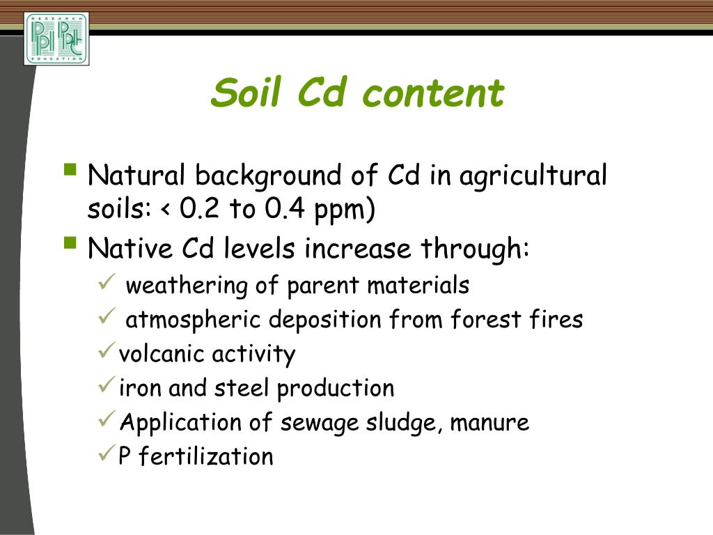 Ppt terry l roberts potash phosphate institute potash for Soil content