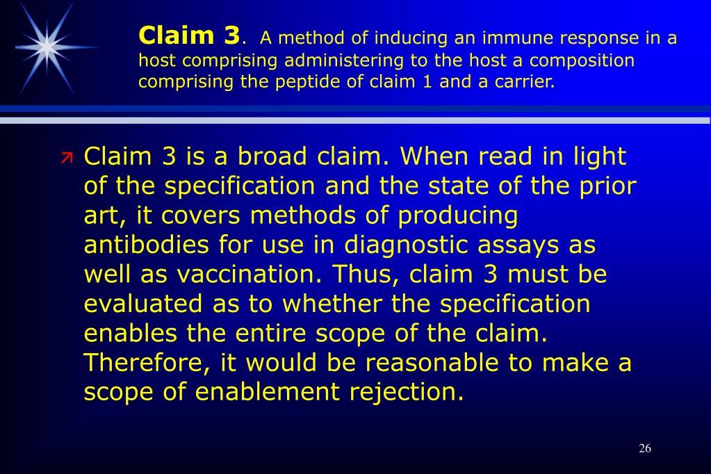 Claim 3