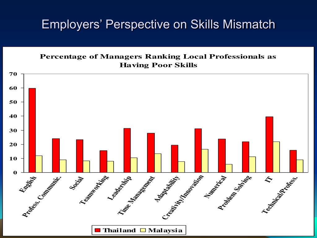 Employers' Perspective on Skills Mismatch