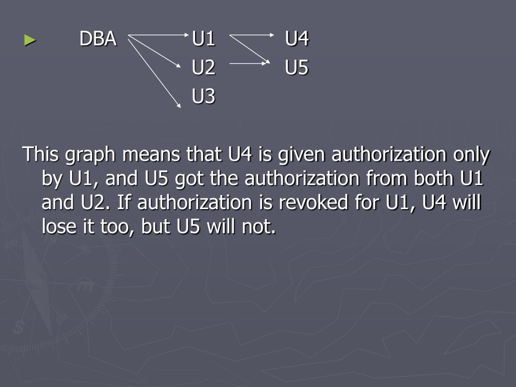 DBA            U1           U4