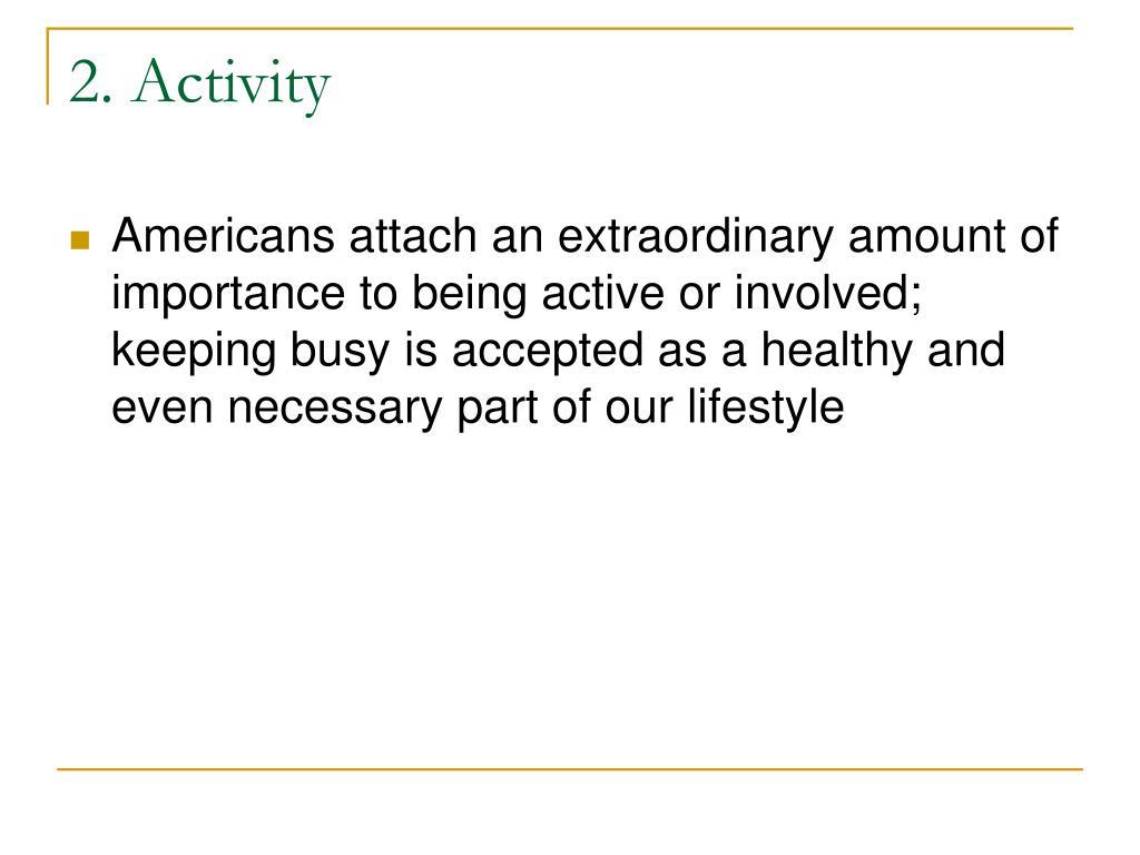 2. Activity