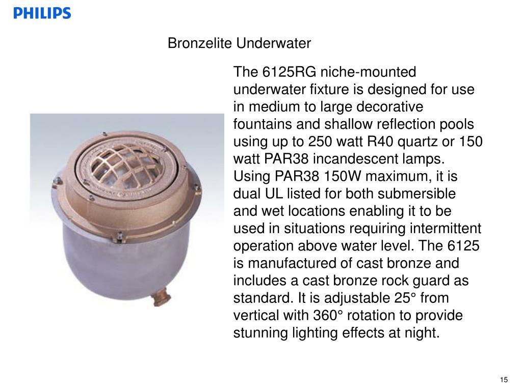 Bronzelite Underwater