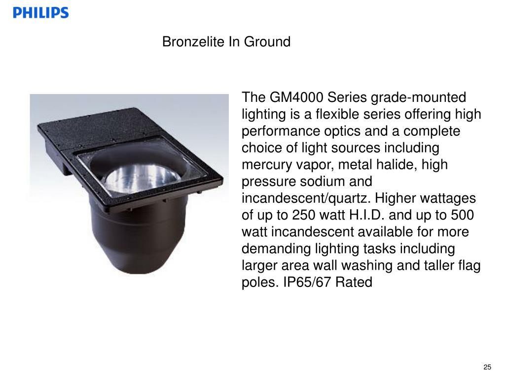 Bronzelite In Ground