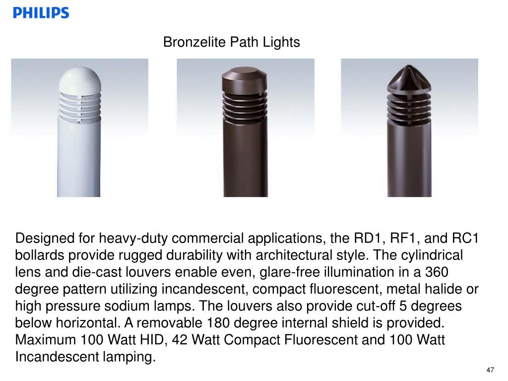 Bronzelite Path Lights