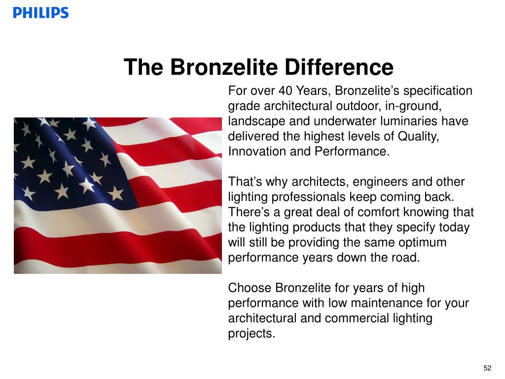 The Bronzelite Difference