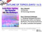 outline of topics days 1 219
