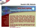 sandia s ssl website