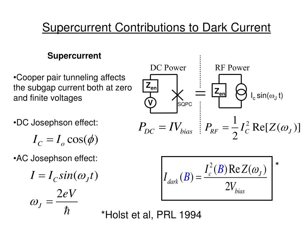 Supercurrent
