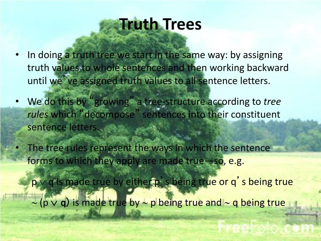 Truth Trees