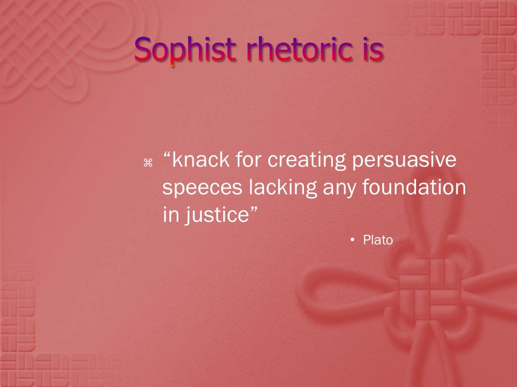 relationship between sophists and socrates