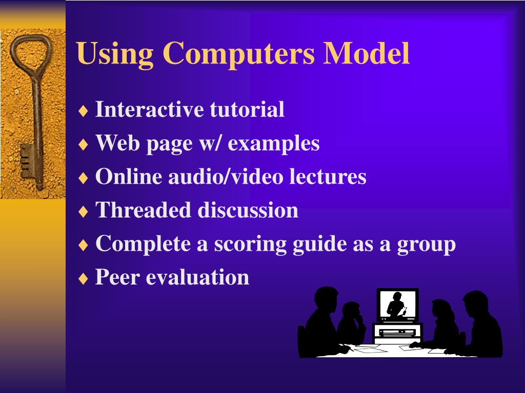 Using Computers Model