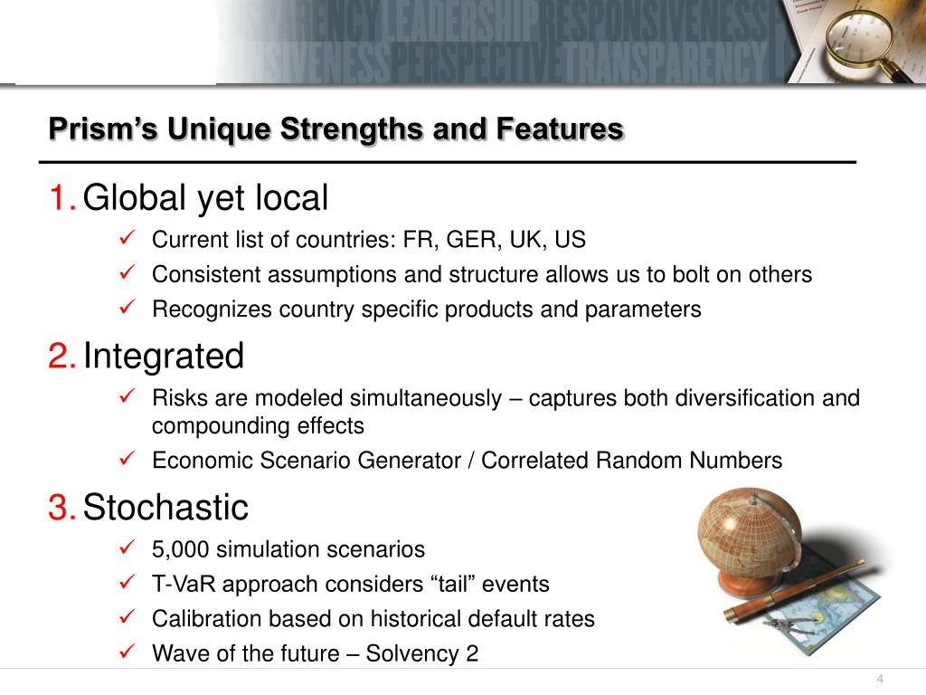 Prism's Unique Strengths and Features