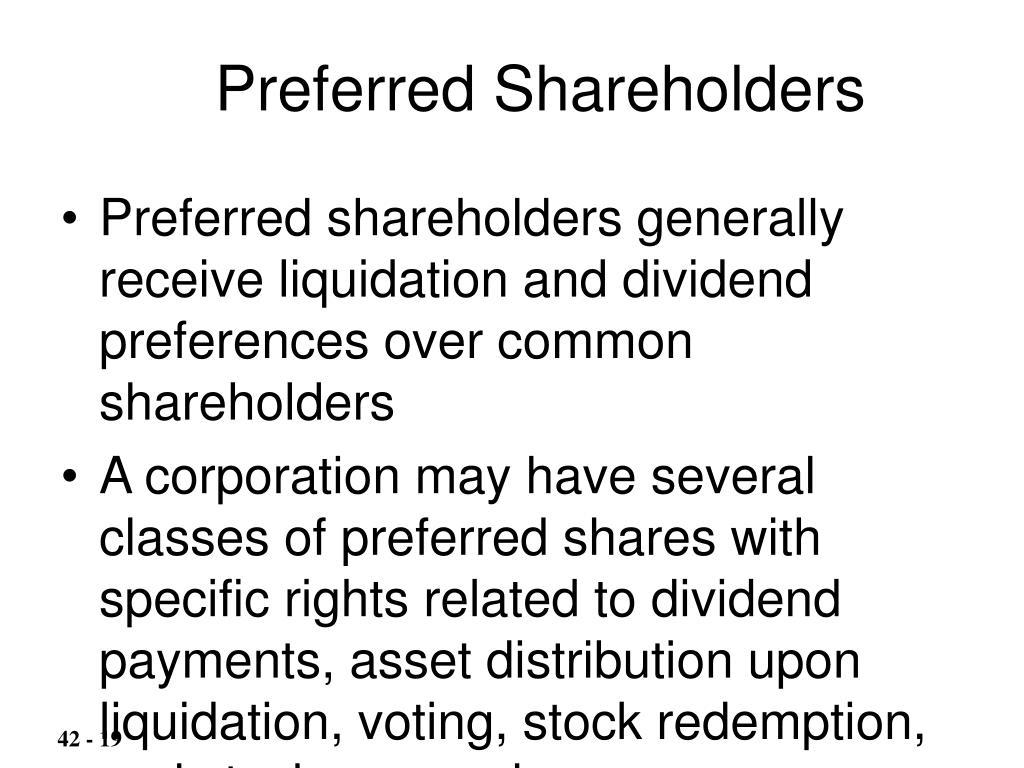 Preferred Shareholders