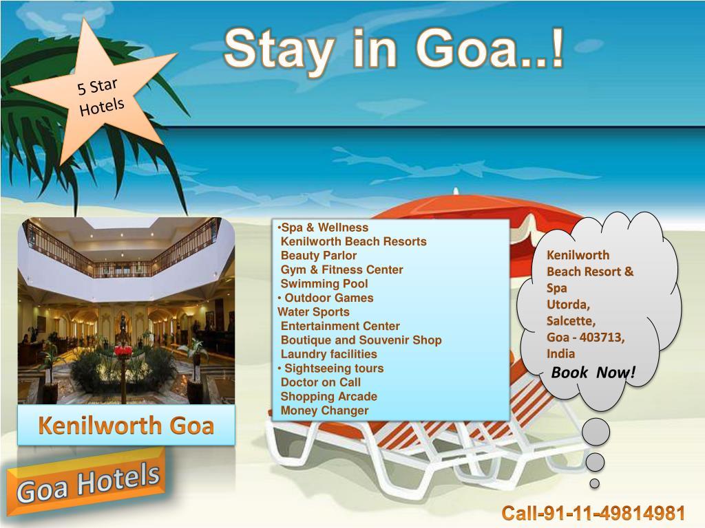 Stay in Goa..!