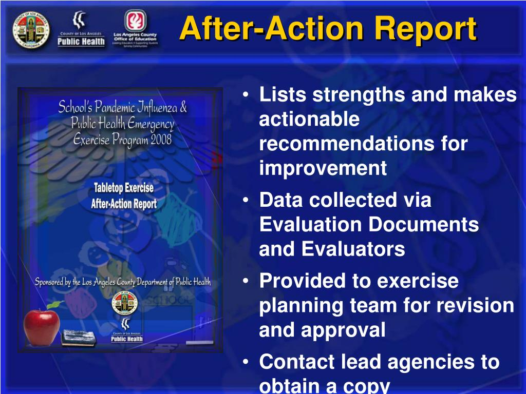 After-Action Report