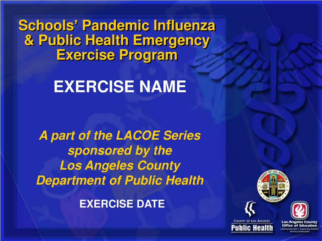 Schools' Pandemic Influenza & Public Health Emergency