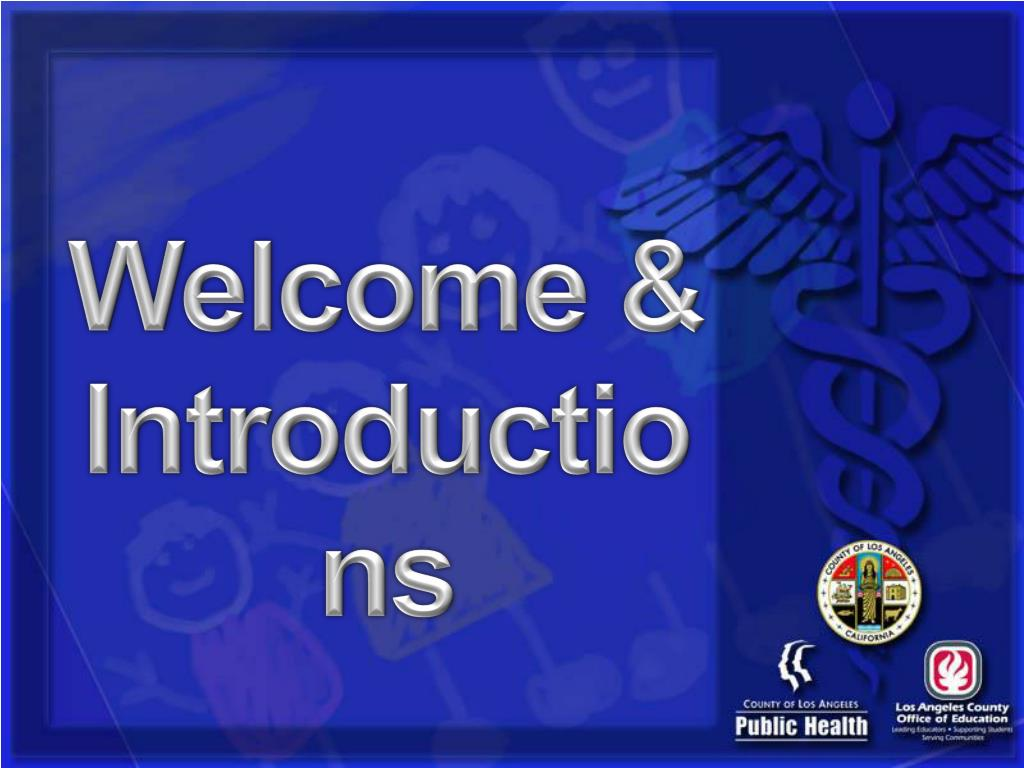 Welcome &